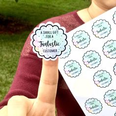 Custom Labels, Stickers, Business Cards, Car Vinyl + by Craft Packaging, Packaging Stickers, Cute Packaging, Jewelry Packaging, Packaging Ideas, Personalized Stickers, Custom Stickers, Business Thank You Cards, Business Stickers