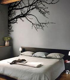 Tree decals for master bedroom