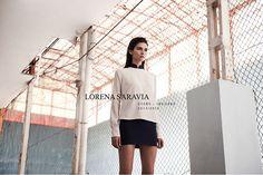 Lorena Saravia campana otono invierno 2014