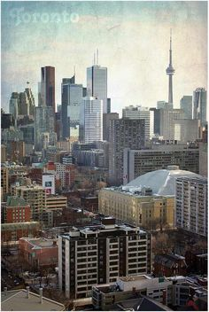 Daily Flickr Pickr – 179 – Vintage Portrait of Toronto on Spring Equinox Visit Toronto, Toronto Canada, Toronto Skyline, New York Skyline, Vintage Portrait, Modern City, Equinox, Gta