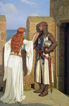 Edmund Blair Leighton - The Shadow