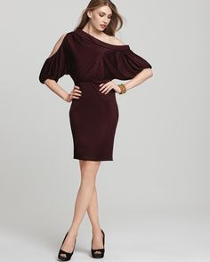 Love this Garnet dress from Black Halo.  Made in the USA.