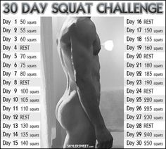 Squat Challenge...yes please!