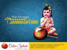 May the natkhat Nandalal always give you the reasons to be happy! #HappyJanmashtami #JaiShriKrishna