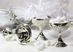 12 Gold Or Silver Wedding Favor Chalice Goblet Cups Plastic 2 Colors Renaissance