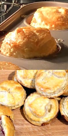 Homemade Mini Meat Pies have a delicious flaky pie crust, are simple and quick to make and great for lunch boxes, parties, picnics and snacks. freezer friendly too! Meat Appetizers, Appetizers For Party, Appetizer Recipes, Pie Crust Recipes, Meat Pie Pastry Recipe, British Meat Pie Recipe, Meat Pie Recipes, Amish Recipes, Beef Pies