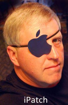 Apple I-patch! :) HA HA