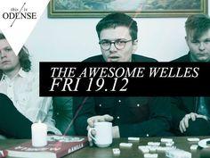 The Awesome Welles. Stærk og støjende rockoncert på Posten. @postenlive Læs anbefalingen på: www.thisisodense.dk/17285/the-awesome-welles