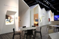 """At Euroluce 2011 Philips Consumer Lighting highlights the claim """"See what light can do for your home"""" with overall 14 houses that are structured according to their contents"""