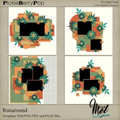 Runaround By Miss Mel Templates