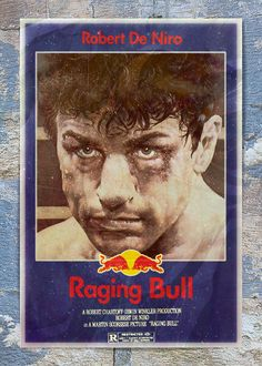 Raging Bull - Today's Brands Take Over Classic Movie Posters by Butcher Billy, via Behance