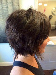 layered hair 15 Choppy Bob Hairstyles for Ladies Bob Hairstyles 2018, Choppy Bob Hairstyles, Short Layered Haircuts, Short Hairstyles For Women, Short Layered Bobs, Short Choppy Bobs, Saree Hairstyles, School Hairstyles, Pixie Haircuts