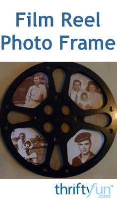 This is a guide about making a film reel frame. If you are lucky enough to have or find and old 16mm film reels, you can try your hand at making this clever photo frame.