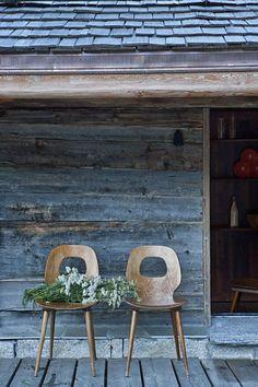 A wooden terrace for a breath of fresh air