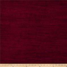 Fabricut Highlight Velvet Sangria from @fabricdotcom  Add some luxury and sophistication to your home decor projects with this unique velvet fabric. It features the soft nap of velvet, with the fine ribs of an ottoman. Perfect for upholstery projects like ottomans, headboards, cornice boards, and even toss pillows.