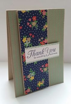 Stampin' Up! Demonstrator stampwithpeg – Thank You Card using sneak peek of the Affectionately Yours Suite I love the new Affectionately Yours Suite from the New Annual Catalogue, which by the way …