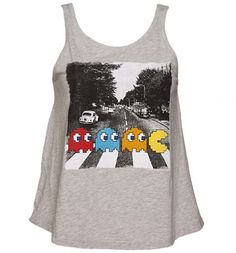 Ladies Grey Pac-Man Abbey Road Swing Vest from TruffleShuffle Define Fashion, Fall Outfits, Cute Outfits, Cool Style, My Style, Abbey Road, Lady Grey, Spring Summer Fashion, Cool T Shirts