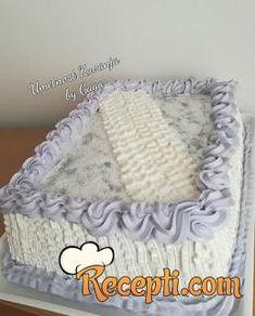 Cake Recipes, Dessert Recipes, Desserts, Serbian Recipes, Serbian Food, Posne Torte, Kolaci I Torte, Knit Baby Dress, Torte Cake