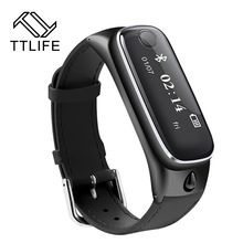 2016 TTLIFE M6 Smart Watch Sports Smart Bracelet band Bluetooth 4.0 Headsets Sleep Monitor Fitness Tracker for IOS Android Phone