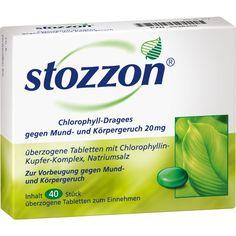 STOZZON Chlorophyll Tabletten gegen Mundgeruch: Stozzon Chlorophyll-Dragees können unangenehme Gerüche verhindern, noch bevor sie…