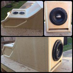 1984 Chevy Truck, Custom Chevy Trucks, Custom Cars, Custom Subwoofer Box, Subwoofer Box Design, Custom Speaker Boxes, Ford F150 Crew Cab, Custom Car Interior, Interior Design