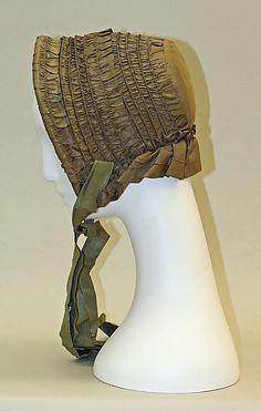 Bonnet - 1840s