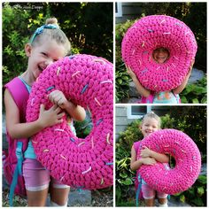 Ravelry: Bulky & Quick Donut Pillow pattern by MJ's Off The Hook Designs