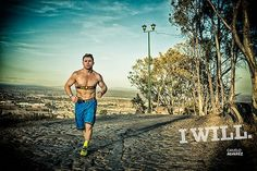 Canelo Alvarez, boxing's welterweight World Champion, shown in Under Armour's I Will marketing campaign wearing the company's Armour39 system.