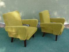 Vintage arm chair Jitona Soběslav 1960s  #vintage#retro#design#aragorngallery#retrodizajn Retro Design, 1960s, Armchair, Furniture, Vintage, Home Decor, Sofa Chair, Single Sofa, Decoration Home