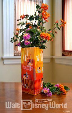 Vase featuring Mary Blair artwork!