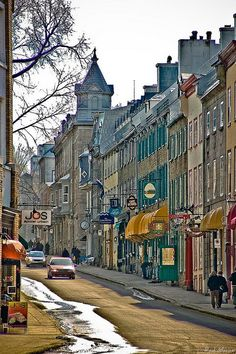 Quebec Canada by raulmacias, via Quebec Montreal, Old Quebec, Quebec City, Ottawa, Places To Travel, Places To See, The Places Youll Go, Chateau Frontenac, Canada Eh