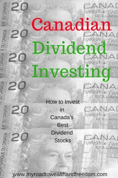 finance investing Canadian dividend investing can be quite profitable and build long term wealth. Here are some of Canadas best dividend stocks for investing. Stock Market Investing, Investing In Stocks, Investing Money, Investment Tips, Investment Portfolio, Investment Books, Investment Quotes, Investment Companies, Dividend Investing