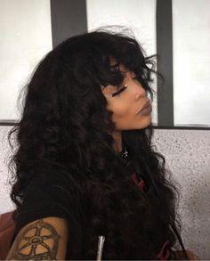 Hot Selling 3 Pcs/pack Brazilian Virgin Hair Body Wave Bundles Grade Brazilian Human Virgin Hair Extensions Source by unicehairmall Hairstyles With Bangs, Weave Hairstyles, Straight Hairstyles, Cool Hairstyles, Unice Hair, Big Hair, Hair Wigs, Hair Inspo, Hair Inspiration