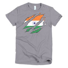 Indian Ripped Womens T-Shirt