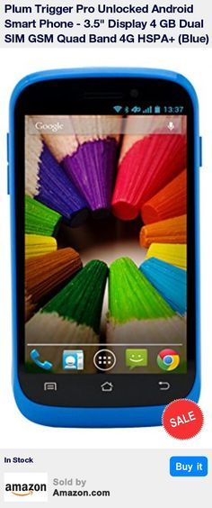 """Unlocked Dual SIM Smartphone, 1.2GHz Dual-Core Processor * 3.5"""" Multi-touch Display, Android OS 4.2.2 Jelly Bean, 4 GB Internal Memory, 512 MB RAM * 5.0 Mega Pixel Front Camera with LED Flash, Geo-Tagging, Touch Focus, Face/Smile Detection, Panorama, HDR * 3.5mm Audio Jack - FM Radio, MP3/MP4 Player, microSD slot up to 32GB * 4G HSPA+ 21Mbps: Supports AT&T, T-Mobile, MetroPCS, Simple Mobile, Tracfone, Cricket Wireless, Net10, Speedtalk, Straight Talk, Red Pocket, Telcel, Walmart Family Mobil"""