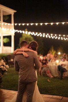 string light dance floor | Andrew Allen Morton #wedding