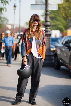 Caroline de Maigret Street Style Street Fashion Streetsnaps by STYLEDUMONDE