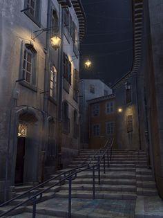 Le Panier, Marseille #night #nuit #Marseille #LePanier #tourismpaca #tourismepaca #black #noir #France #South #Provence