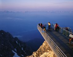 Skywalk in Ramsau am Dachstein, Austria