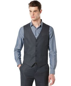 Perry Ellis Big and Tall Vest