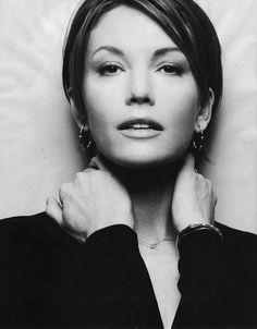 An #Over40 #face ~ #DianeLane #BW
