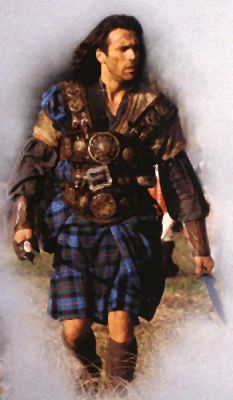 Highlander! Adrian Paul.. it's all about the accent I'm not sure how I will manage when we get there , Steve has already given me a lecture on behaving hhaha.