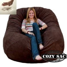 Corda Roy S Double King Size Convertible Foam Bean Bag Bed