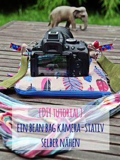 DIY   Bean Bag Kamera-Stativ selber nähen - Bohnensack-Stativ selbermachen - selbstgemachtes Outdoor Foto Equipment   luzia pimpinella
