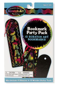 Scratch Art® Classroom Packs - Scratch Art® Party Pack - Bookmarks