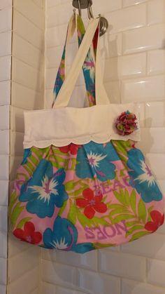 sac de plage tendance, très coloré : Sacs bandoulière par a-fleur-2-pots