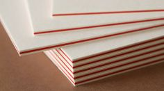 Duplexing is the method of bonding sheets of paper or card to create an exceptionally thick piece of stationery.  Whilst layers of the same ...