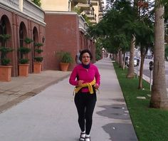 #Caregiving is a LOT harder than running in a Marathon! Here is Brenda Avadian training for the LA Marathon in SANDALS (2011)