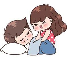 Boobib Cute Couples Vol.6 – LINE stickers | LINE STORE