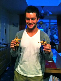 Devitt and his Action Figures (Prince Devitt + Pegasus Kid2)!!